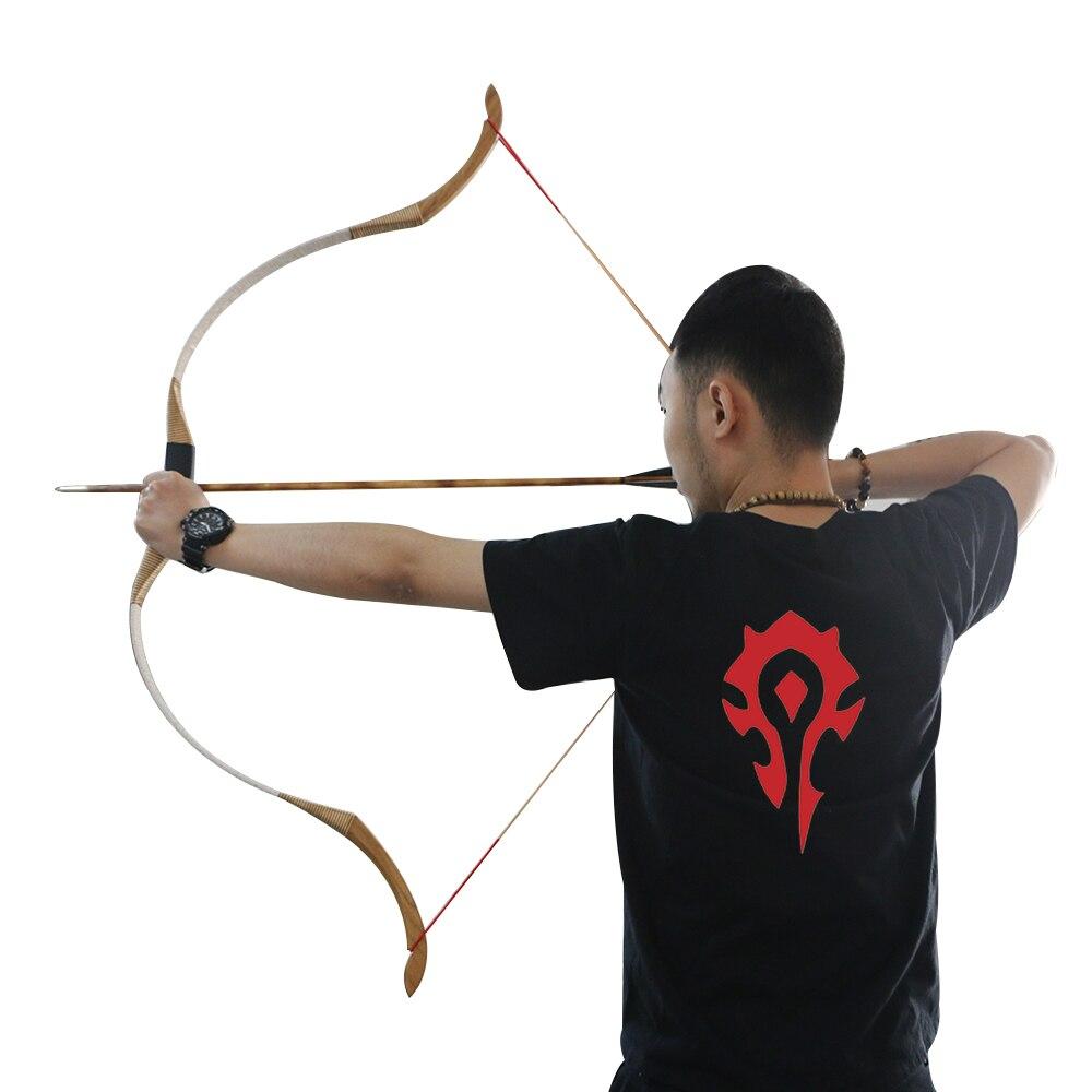 Tir à l'arc de chasse Recurve Longbow tir professionnel - 6