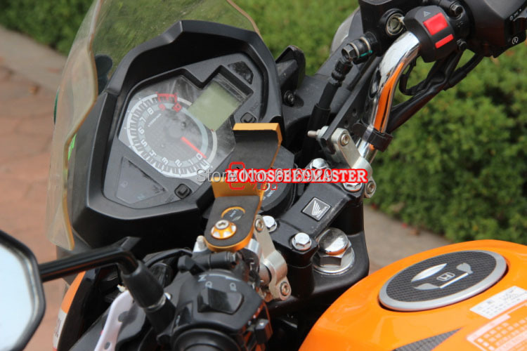 Motorcycle GW250 phone holder mirage aluminum bracket of navigation navigator holder-15592.jpg
