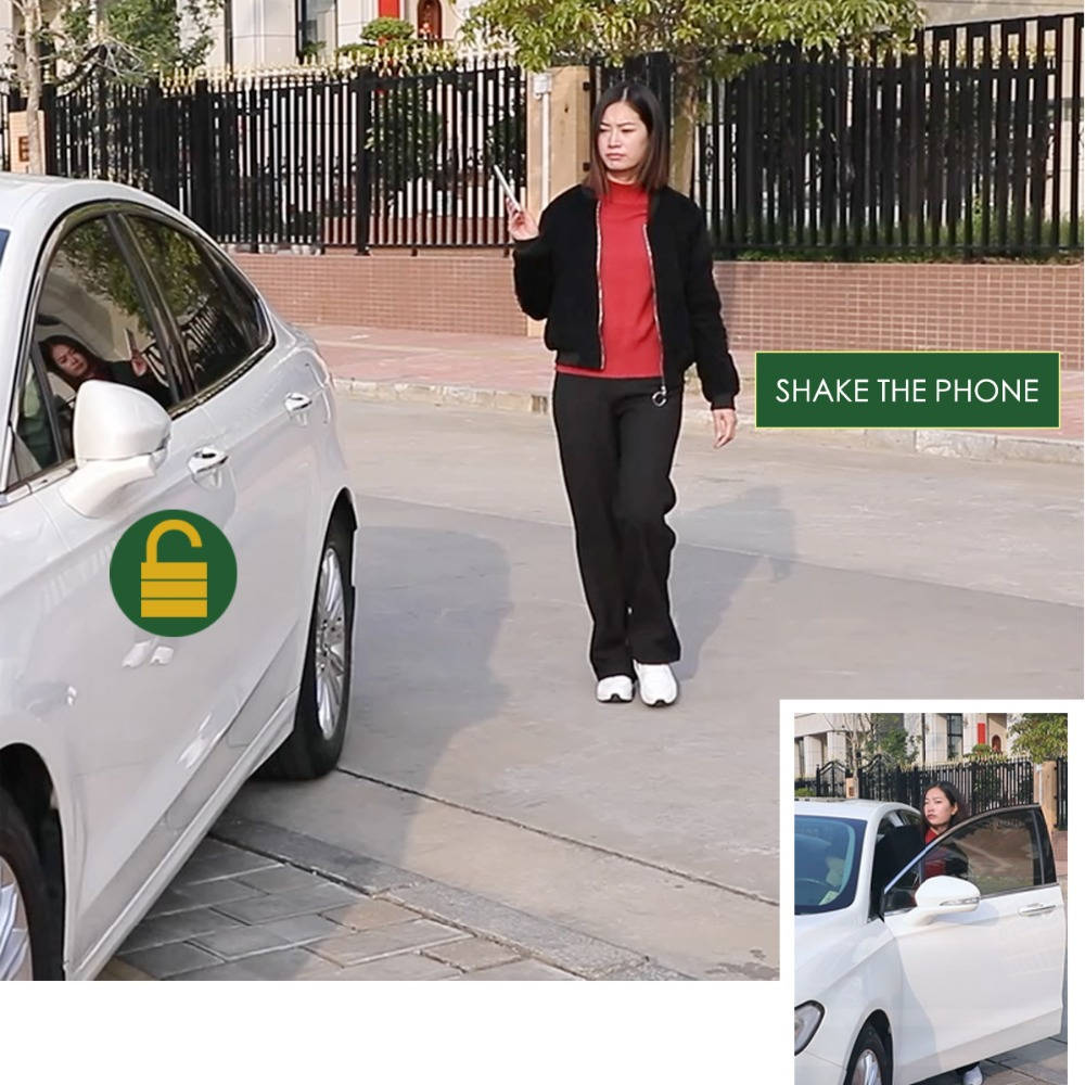 Smart Phone Sensor Control Car Car Electronics Hand Lock Comfortable Access Close To Open The Lock To Leave The Lock Phone Bluetooth Connection