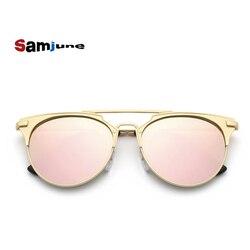 Luxury women sunglasses round vintage ladies cat eye font b mirror b font sun font b.jpg 250x250