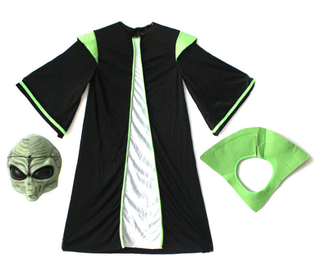Children Halloween Star Wars: The Force Awakens  yoda  Aliens ET Clothing  Dance Clothes Cosplay  Fancy  Party  1
