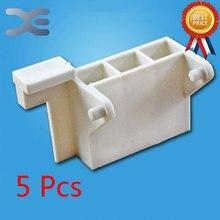 5 шт. Запчасти для микроволновых печей держатель для микроволновки P7021TP-6 дверные стойки 7,5 см* 4,2 см
