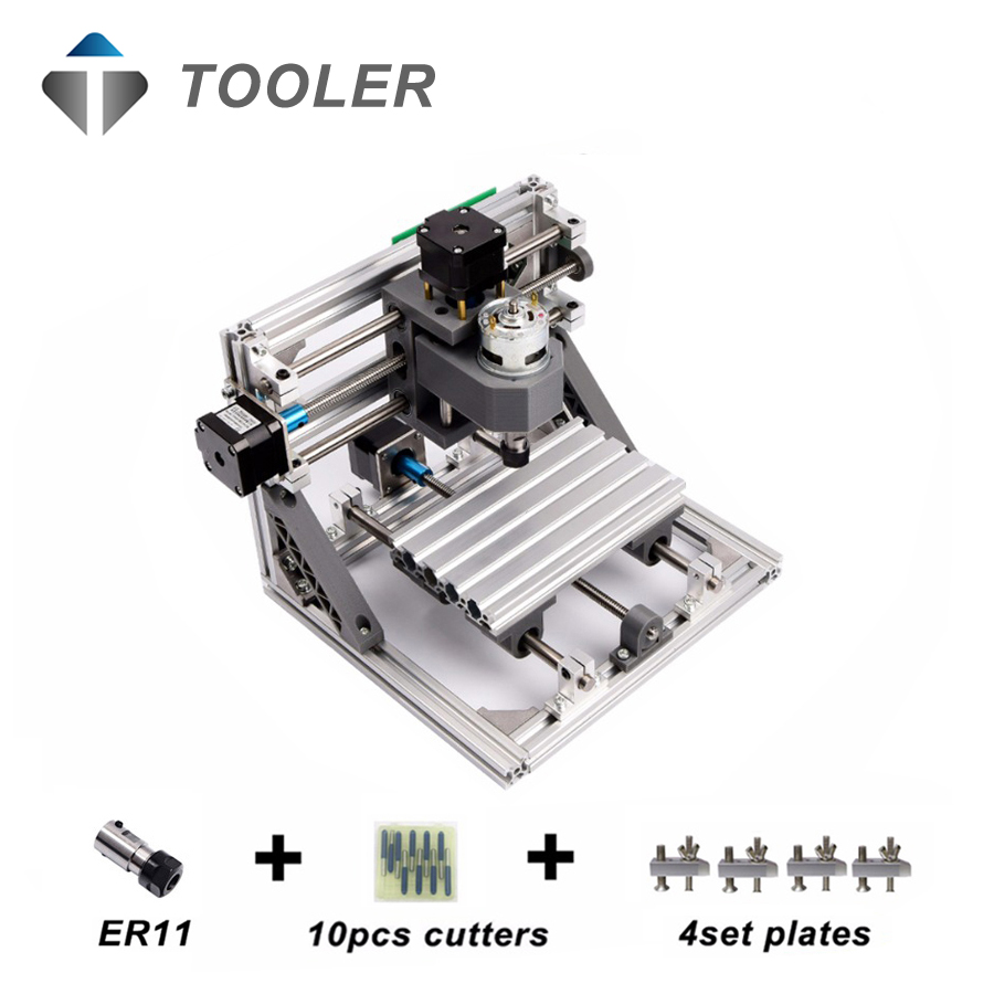 CNC1610 with ER11,mini cnc laser engraving machine,Pcb Milling Machine,Wood Carving machine,cnc router,cnc 1610,toys gift cnc 5axis a aixs rotary axis t chuck type for cnc router cnc milling machine best quality