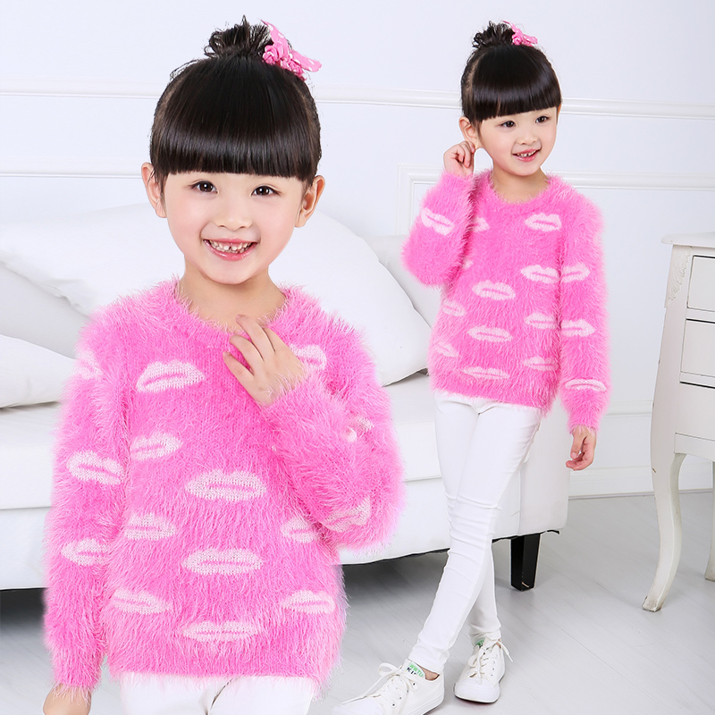38b967e3d Knitted Winter Sweater For Girls Free Knitting Patterns Pullover ...