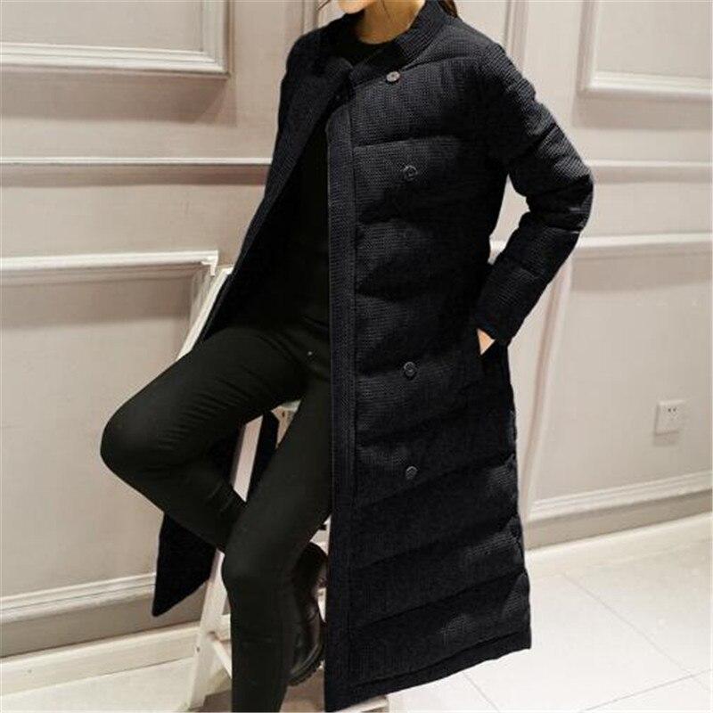 Damen Winter Jacke mit Bund Beiläufig Parka Lang Warm