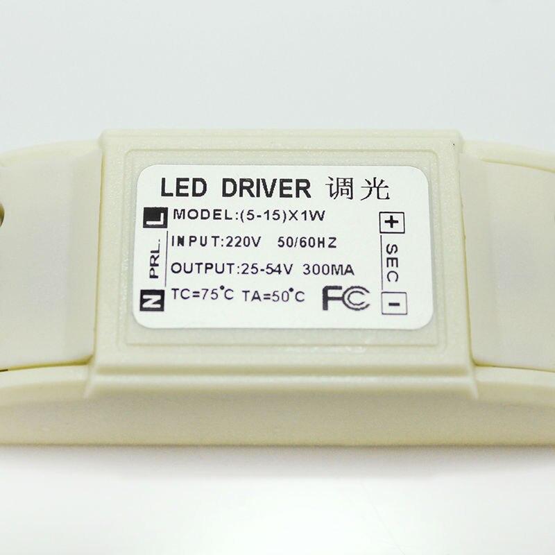 Dimmable LED Driver LED էլեկտրամատակարարում 5-15w - Լուսավորության պարագաներ - Լուսանկար 3