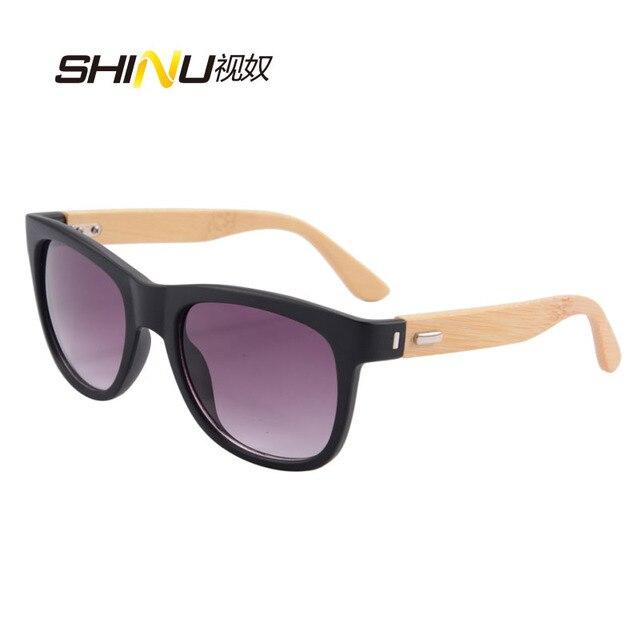 SHINU Bois lunettes de soleil hommes bambou lunettes de soleil femmes marque  lunettes peut mettre priscription 42fd6d146dd7