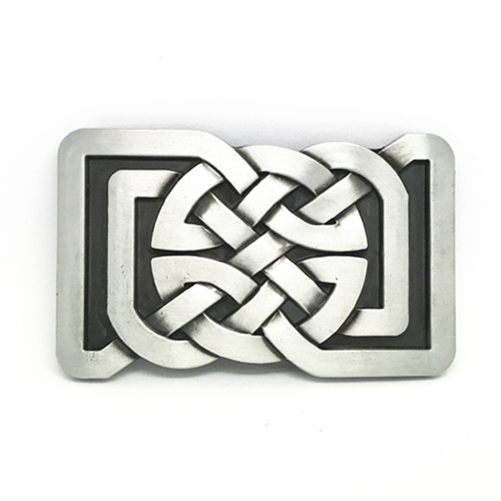 Original Western European Zinc Alloy Belt Buckle With Retro Pattern Is Suitable For 4.0 Belt Buckle For Men And Women
