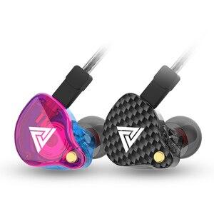 Image 3 - QKZ VK4 ZST Pro Driver Oortelefoon Afneembare Kabel In Ear Audio Monitoren Geluidsisolerende HiFi Muziek Sport Oordopjes