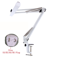 A16 USB Power LED Office Desk Lamp Swing Arm Architect Lamp With Clamp Adjustable Led Table