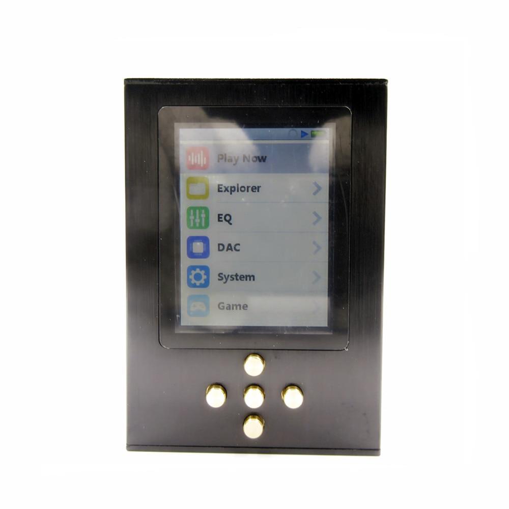 100% New DIY Zishan DSD Professional Lossless Music MP3 HIFI fever portable lossless music player AK4490 DSD hard solution цена