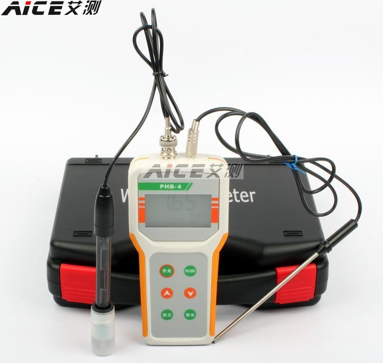 (qi Wei) Phb-4 Mikrocomputer Ph Meter Tragbare Ph Meter Ph-messung Temperatur Entschädigung Für Temperatur Entschädigung