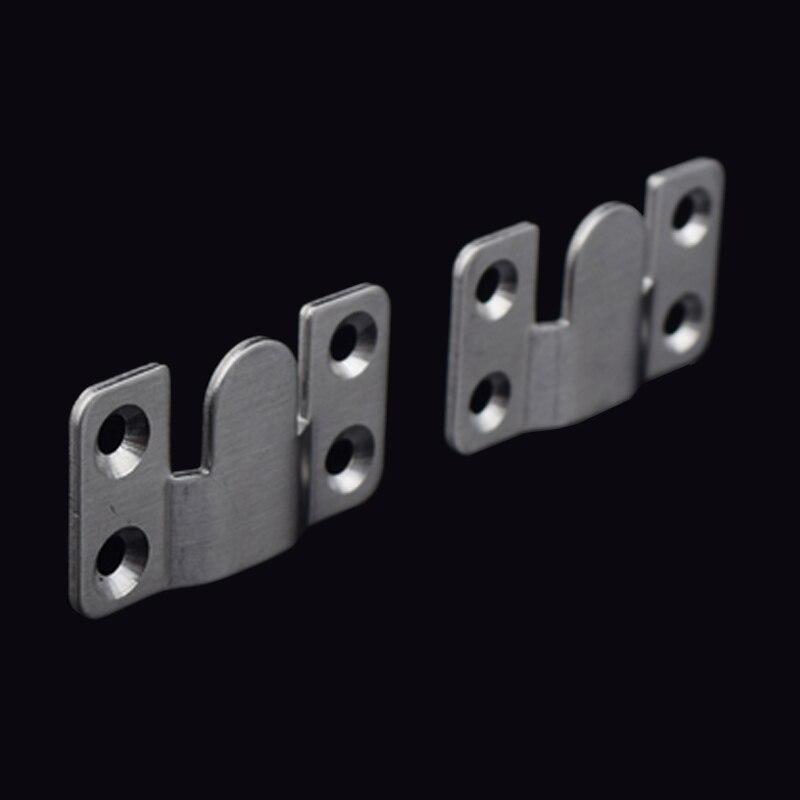 20Pcs/lot Stainless steel or Iron Interlocking Flushmount Hook Frame ...