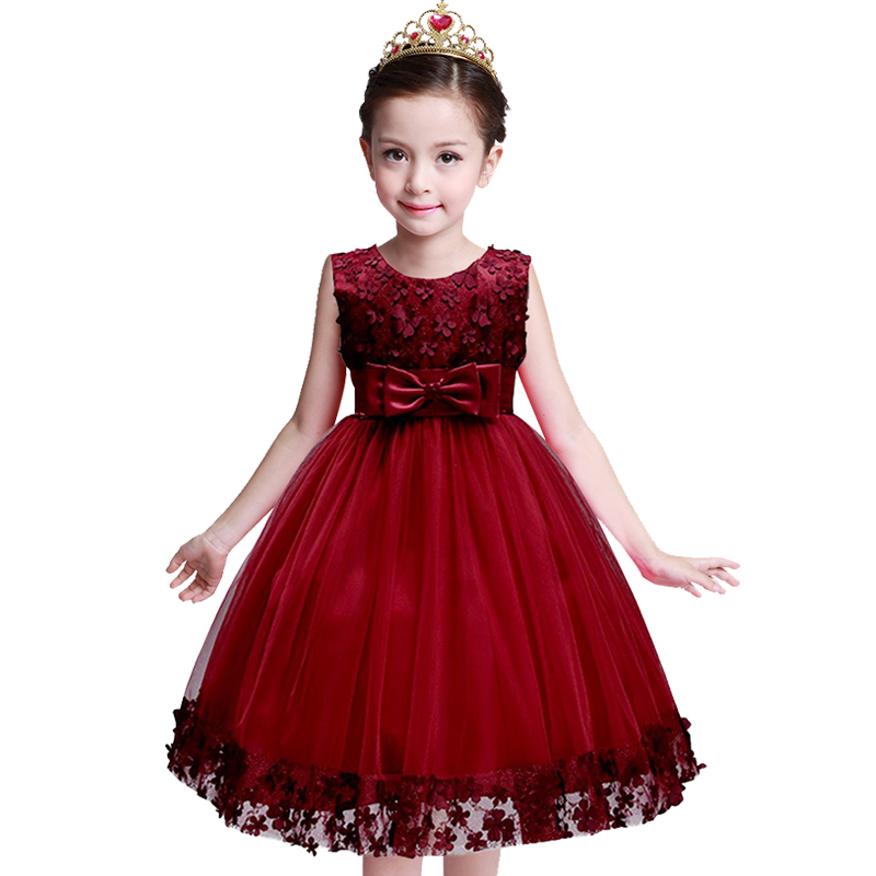 High Quality School Opening Ceremony Dresses For Girl Tulle Lace Infant Toddler Pageant Flower Girl Dress for Wedding Birthday brandwen formal white dresses for girl tulle lace infant toddler pageant pearls girl dress for wedding and birthday vestidos