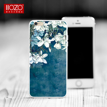 Case For iphone 7 7plus Luxury Floral Plants Flowers Pattern 3D Relief Soft Silicone Painting Back Cover For iphine 6 6s plus