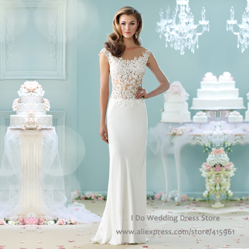 Unique Sheath Wedding Dresses Frieze - All Wedding Dresses ...