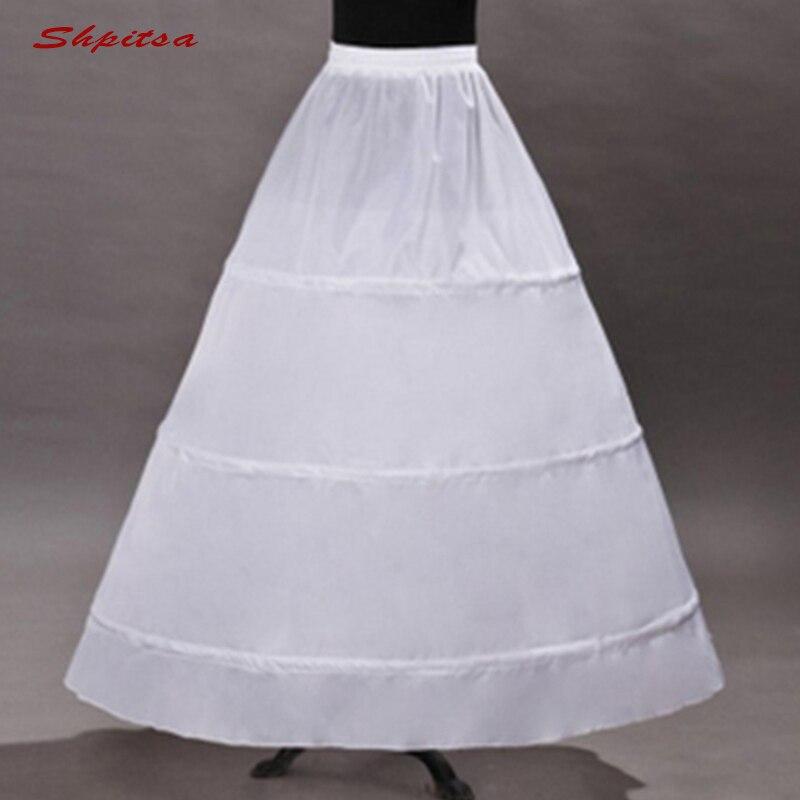Enagua blanca de 3 enagua, con aros, para vestido de boda, vestido de baile, crinolina, mujer, falda de aro, abrigo Enagua de aro con borde de encaje de 6 aros para vestido de baile, vestido de boda, ropa interior de tul para boda, accesorios de crinolina