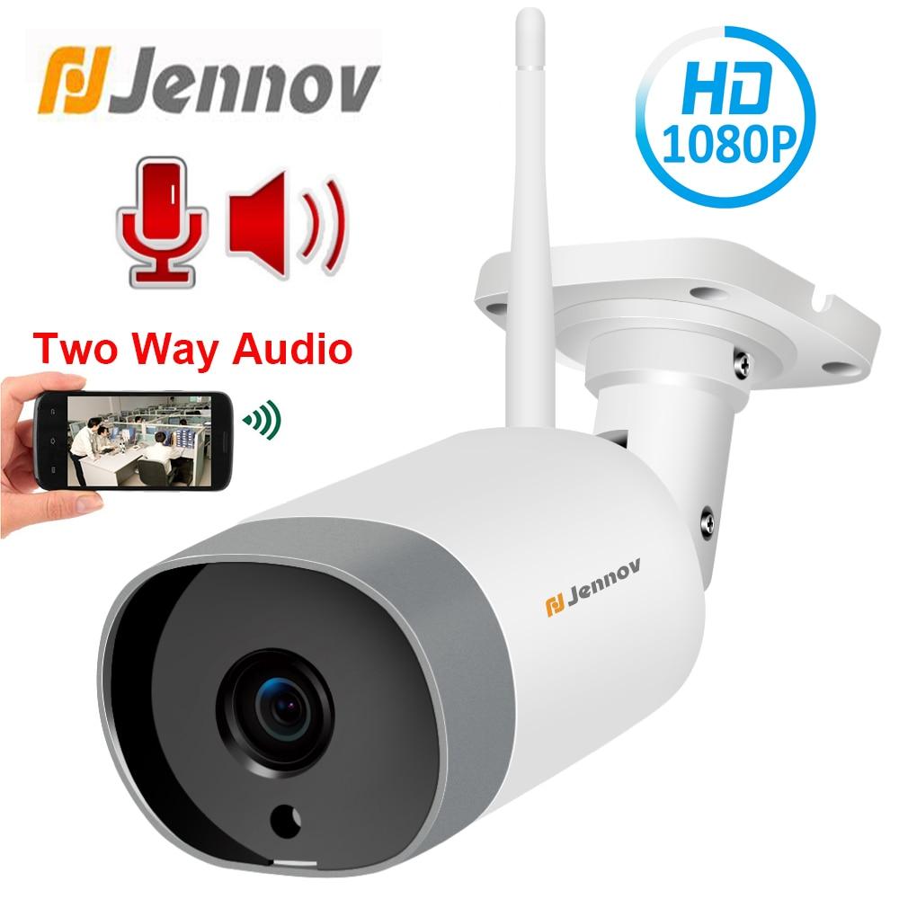 Jennov 1080P 2MP HD ONVIF Two Way Audio Outdoor IP Camera WiFi Home Security Wireless Camera Video Surveillance Kit CCTV Ipcam|Surveillance Cameras| |  - title=