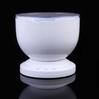 Hight Quality Romantic Aurora Master 7 Colorful LED Light Ocean Wave Projector Speaker HR