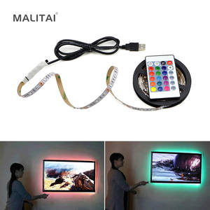 Tape-Ribbon Led-Light Usb-Led-Strip-Lamp Desktop-Screen Flexible TV 2835smd Dc5v 5M HDTV