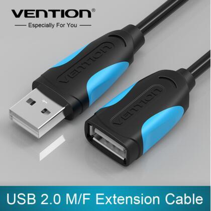 Vention USB 2.0 от Мужчины к Женщине USB Кабель Расширение Удлинитель Удлинитель Для Портативных ПК