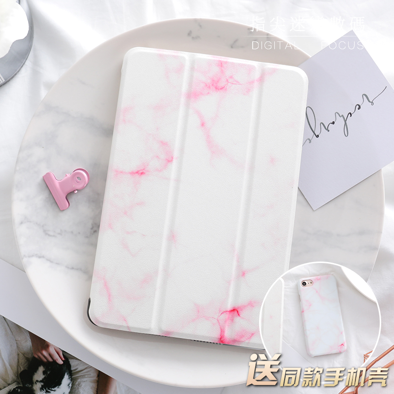 Pink Marble Magnetic Flip Cover For iPad Pro 9.7 10.5 Air Air2 Mini 1 2 3 4 Tablet Case Protective Shell for New iPad 9.7 2017 nice soft silicone back magnetic smart pu leather case for apple 2017 ipad air 1 cover new slim thin flip tpu protective case
