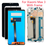 New Original 6.9 Inch LCD For XiaoMi Max 3 LCD Display With Frame Mi Max 3 LCD Touch Screen Digitizer Assembly Replacemment