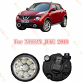 Car styling LED Fog LAMP Lamps  FOG LIGHT LIGHTS  For NISSAN JUKE 2010-2015   2 PCS   Refit BLUE YELLOW WHITE