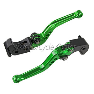 Motorcycle CNC Short Adjustable Brake Clutch Levers For Suzuki GSXR750 GSXR1000 GSXR600 GSXR 1000 600 750 K8 Green Lever(China)