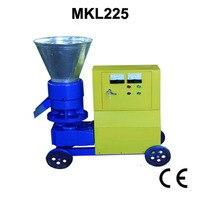 7.5KW MKL225 Pellet Press Wood Pellet Mill With Motor