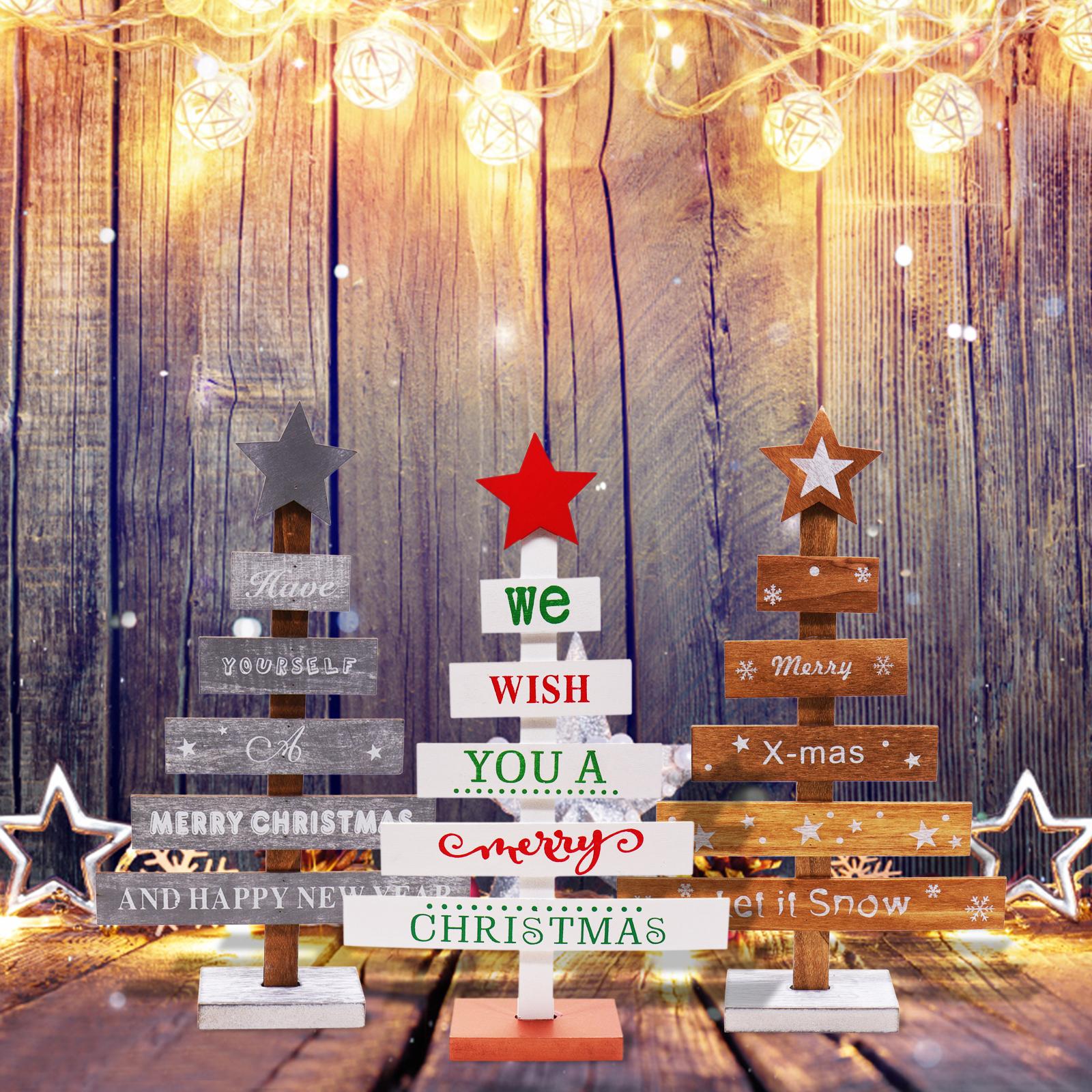 Christmas Home Decor 2019.2019 New Year Christmas Decorations For Home Christmas Wood