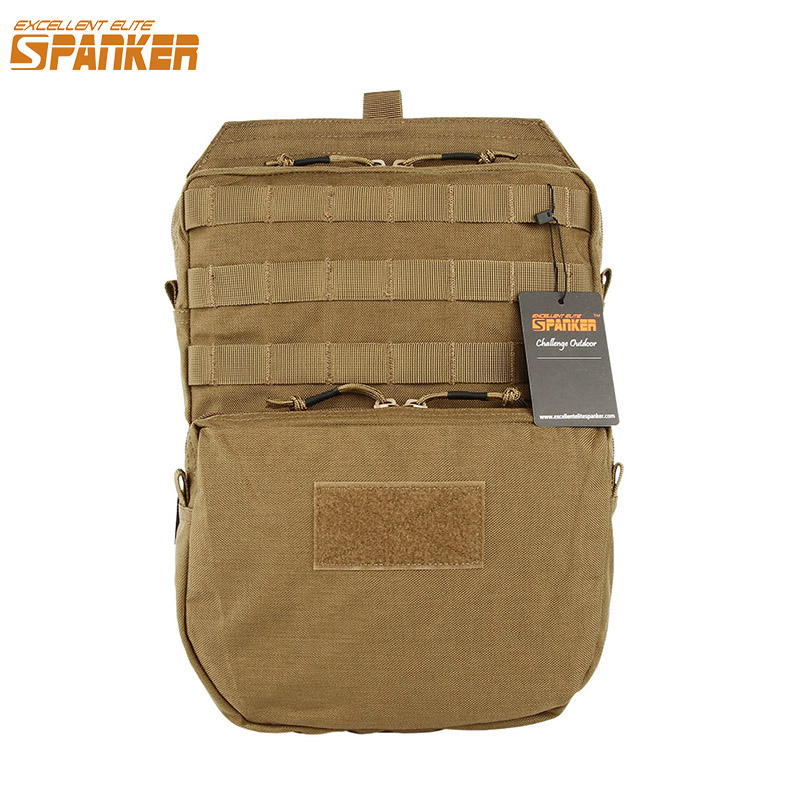 EXCELLENT ELITE SPANKER Outdoor Tactical Molle Hydration Bag Hunting Camo Bags Military Army Combat Vest Hydration Pouch