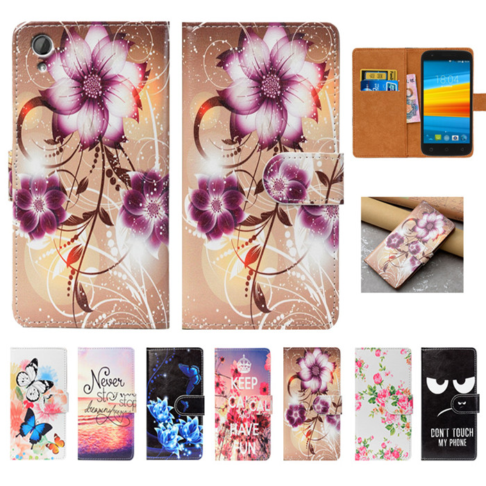 For DEXP Ixion M450 Neon Case High Quality Pu Leather 5.0 Flip Wallet Case Back Cover Book Case For DEXP Ixion M450 Neon Case