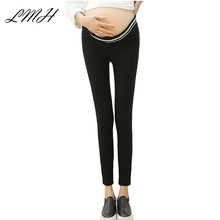 LANMEIHU maternidade 2017 maternity clothes cotton pants women plus size leggings pregnancy summer pants maternity pants