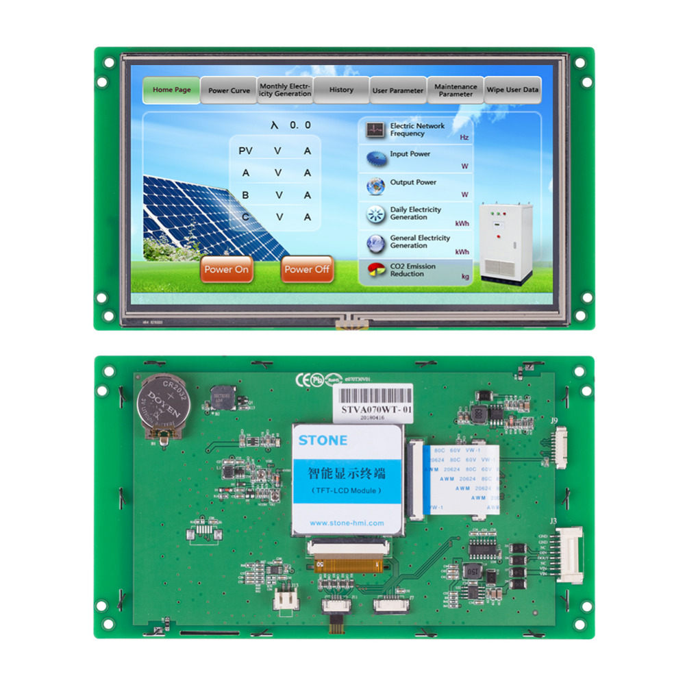 7 Advanced Type TFT LCD Module Can Be Conreolled By Any MCU7 Advanced Type TFT LCD Module Can Be Conreolled By Any MCU