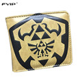 FVIP New Design Cartoon Wallet Zelda Batman Dragon Ball Spider-Man Harry Potter Card Holder Short Wallets Dollar Price Purese