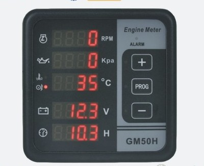 GM50H Engine Digital Multi-functional Meter For Test Oil TemperatureGM50H Engine Digital Multi-functional Meter For Test Oil Temperature