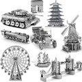 2016 новые прибытия Nano DIY 3D архитектурного построения модели металла Из развивающие игрушки для малышей