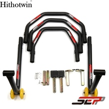 SEP Motorcycle Scooter Rear Wheel Support Stand Swingarm Swing Arm Iron Fork stand Auto Wheel Support Frame Tire Repairing Tool