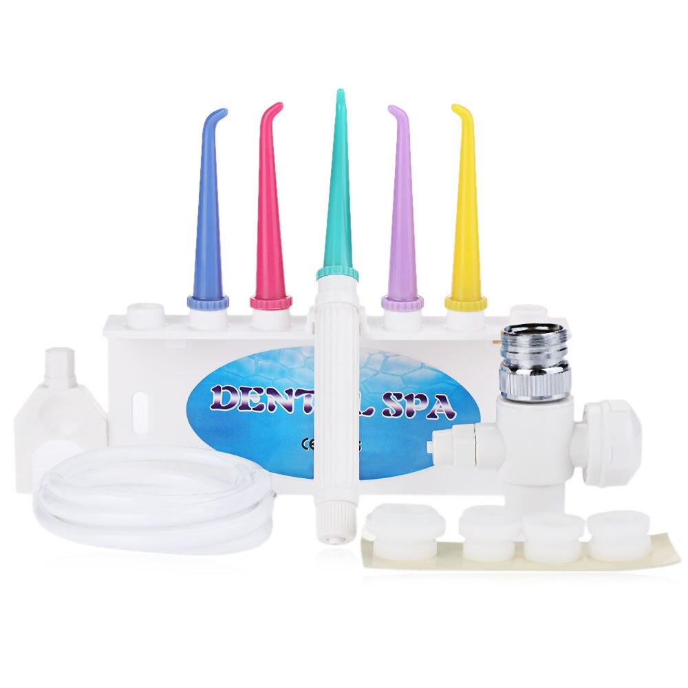 Gustala irrigador dental conveniente dientes Cuidado profesional flosser agua grifo irrigador oral dental Spa Cleaner