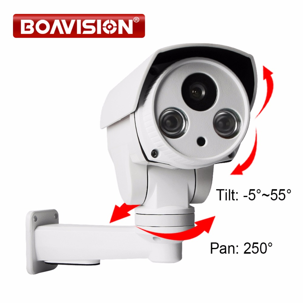 Mini 1 0MP PTZ Bullet IP Camera POE SD Card Slot 6mm Lens HD 720P Project