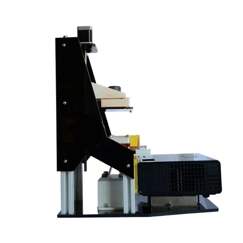 Bricolage DLP imprimante 3D rentable imprimante de cortège de lumière numérique 3D plus rapide formant la vitesse que FDM SLA 3DPCR6
