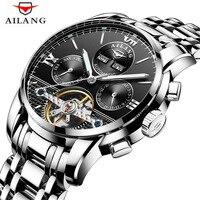 Relogio Masculino AILANG Watch Men Luxury Brand Tourbillon Automatic Mechanical Watches Men Casual Business Waterproof Watch