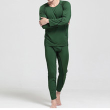 Brand Men Underwear Sets Winter Mens Warm Add wool Long Johns Thermal Underwear Sets Thick Plus Velvet Long Johns Set