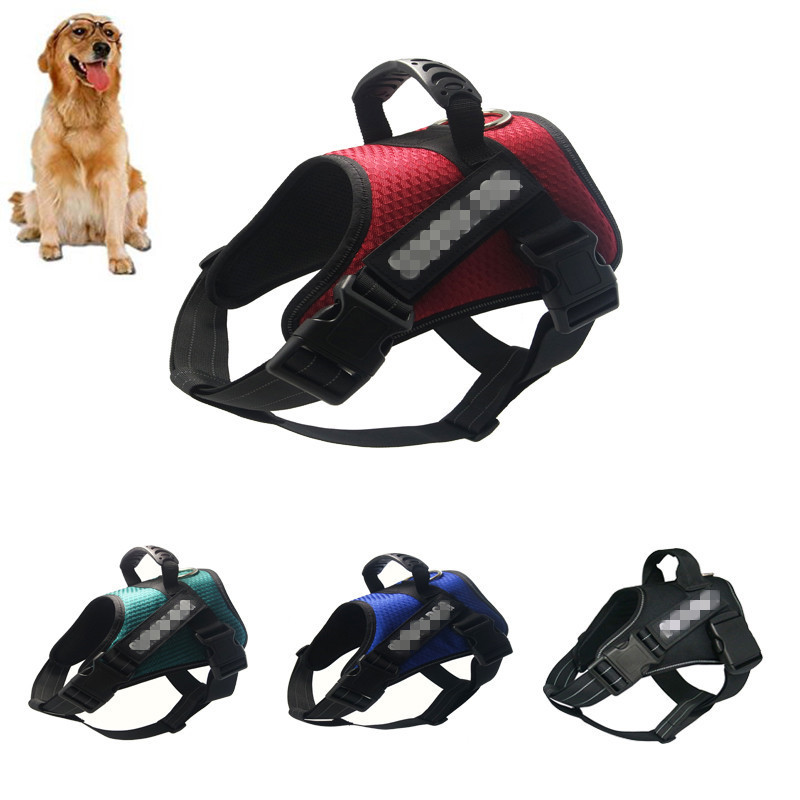 DannyKarl 2019 Explosive Dog Chest Strap With Explosion-Proof Punch Vest Adjustable Traction