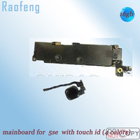 Raofeng 16gb Unlocked for Iphone 5SE motherboard with Touch ID 16GB Disassembled  mainboard  IOS system mainboard  Logic Board|motherboard logic| |  -