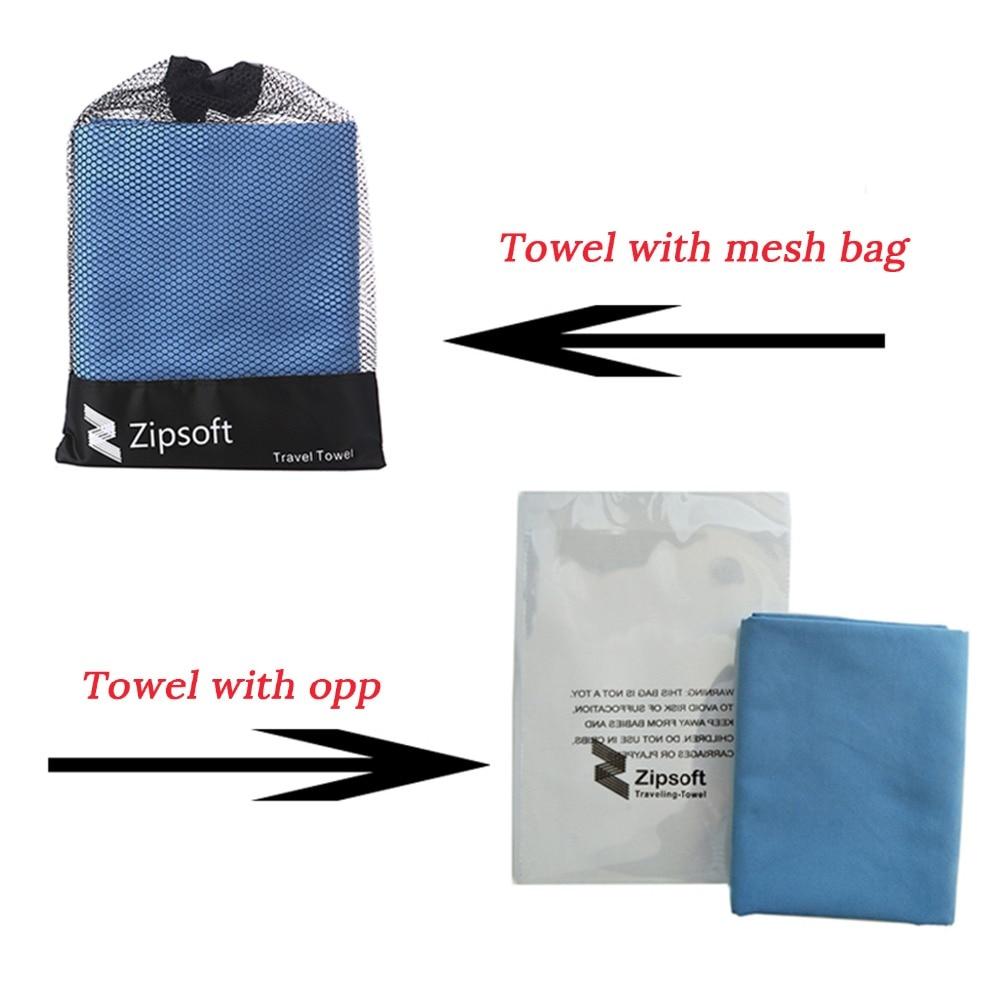 Zipsoft Пляжний рушник Microfiber Подорожі - Домашній текстиль - фото 6
