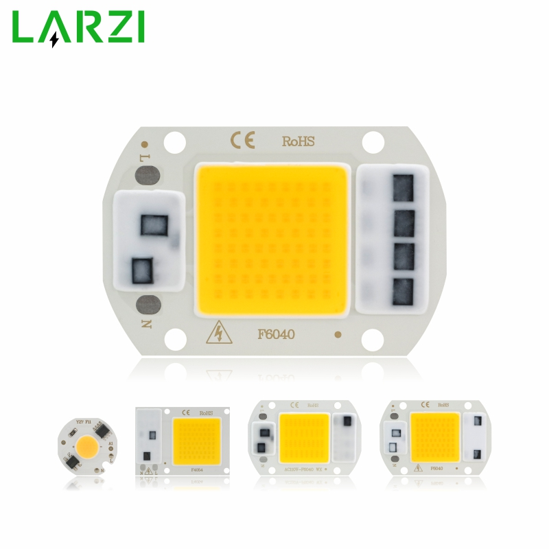COB LED Chip Lamp 3W 5W 7W 9W 10W 20W 30W 50W 220V Smart IC No Need Driver LED Bulb For Flood Light Spotlight Diy Lighting