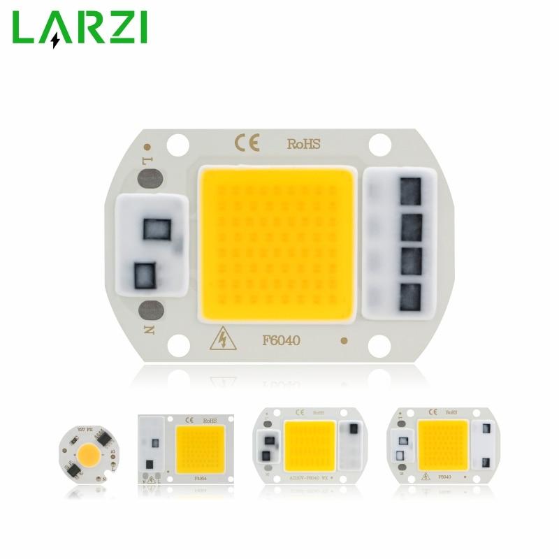 COB LED Chip Lamp 3W 5W 7W 9W 10W 20W 30W 50W 220V Smart IC No Need Driver LED Bulb For Flood Light Spotlight Diy Lighting