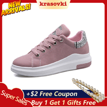 Krasovki Brand 2019 Spring Women New sneakers  Autumn Soft Comfortable Casual Shoes Fashion Lady Flats Female shoes for student